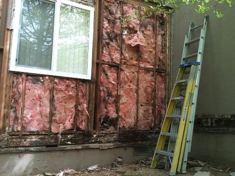 Siding repairs