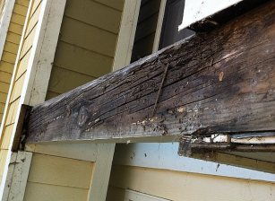 Dry rot repair in Sacramento Apartment community